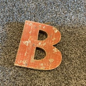Wooden B